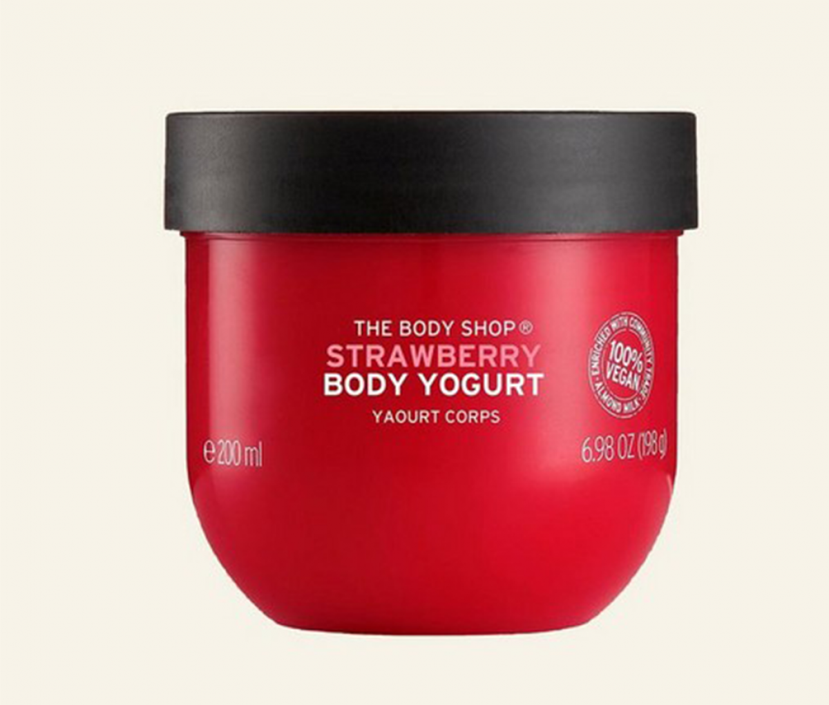 The body shop Body Yogurt Body Cream Strawberry Kiss 200ml