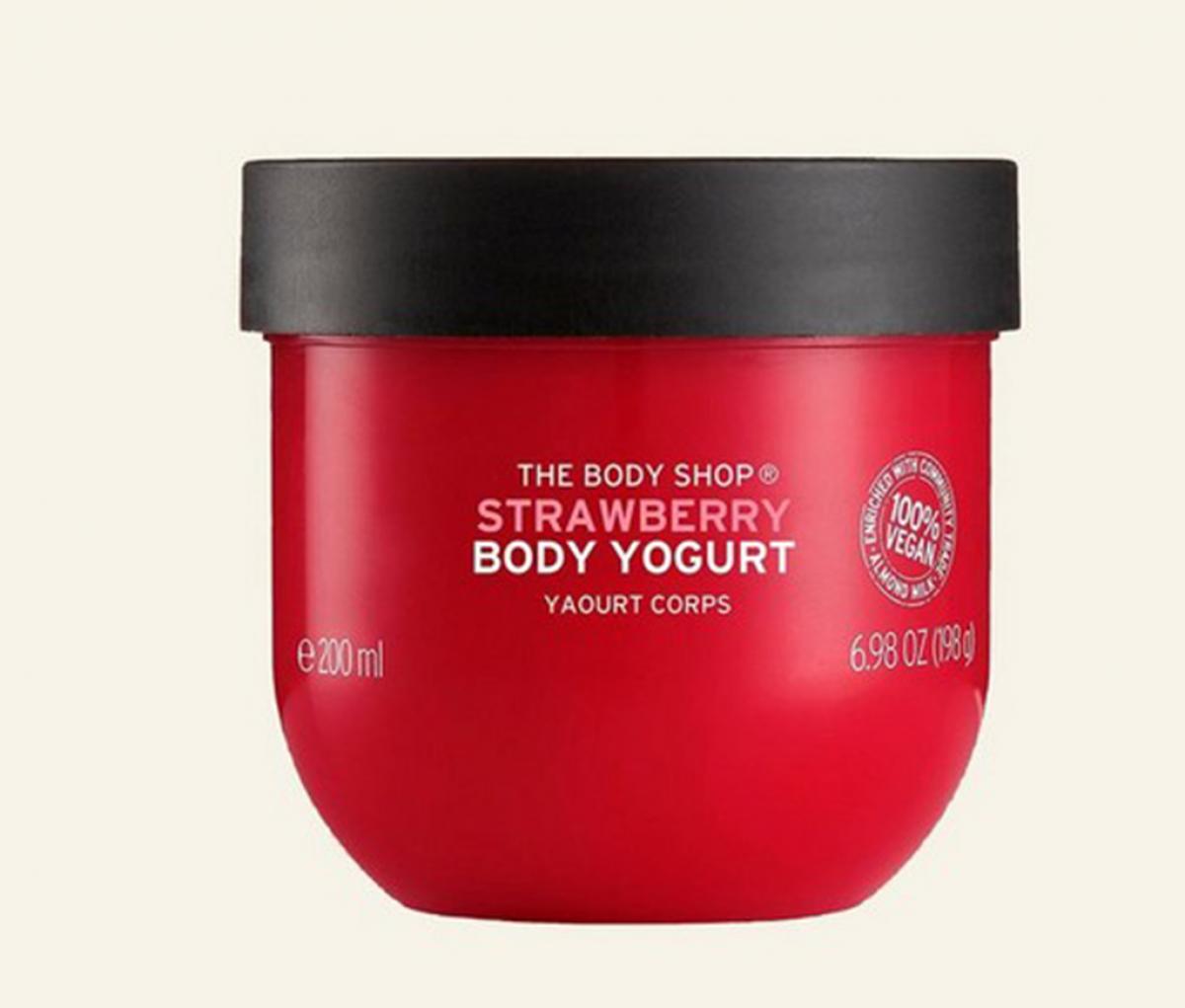 The body shop Body Yogurt Strawberry