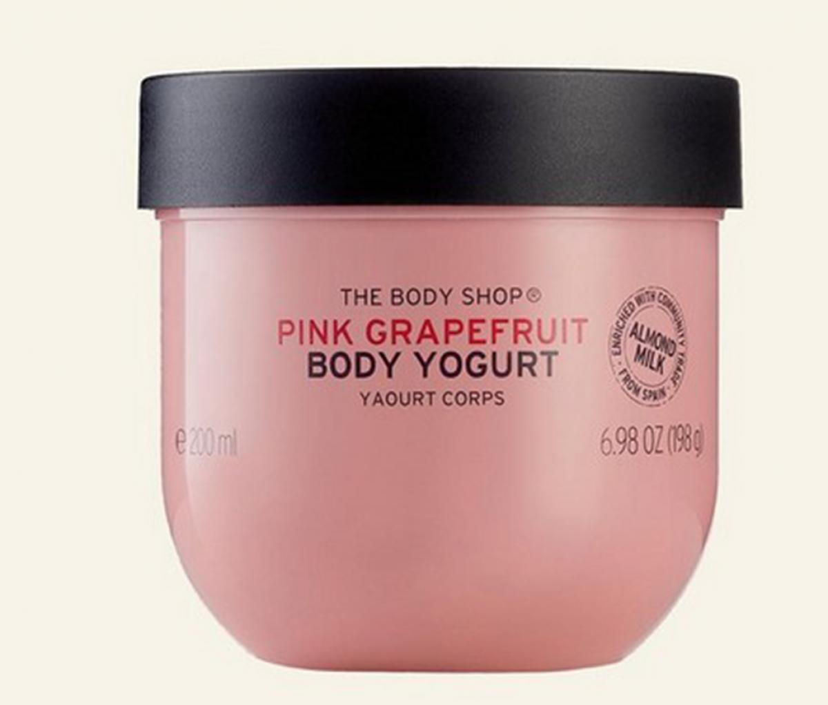 The body shop Body Yogurt Pink Grape Fruit