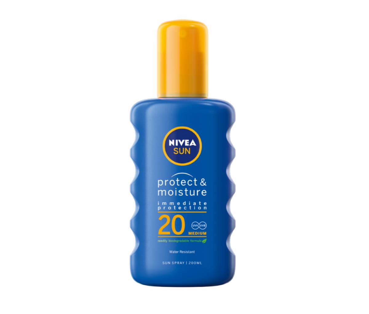 Nivea  Sun Spray SPF20 Protect & Refresh 200ml