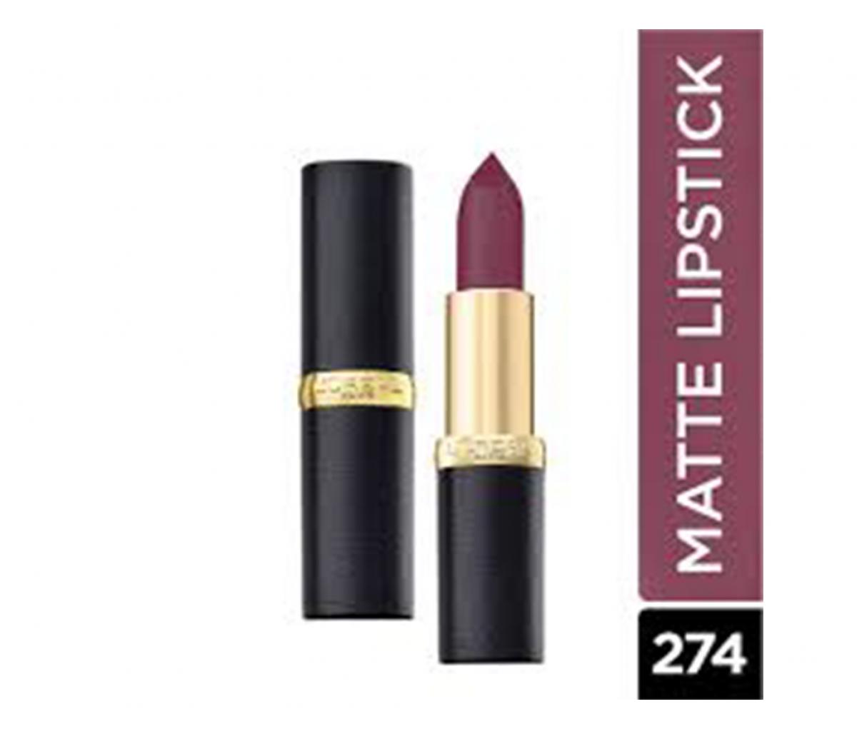 L'Oréal Paris colour Riche Matte Lipstick 274 Muave Petal