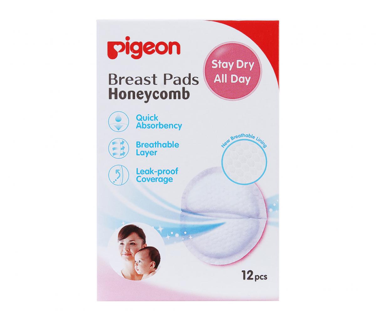 Breast Pads Honeycomb (12pcs) Box, English  [16583]