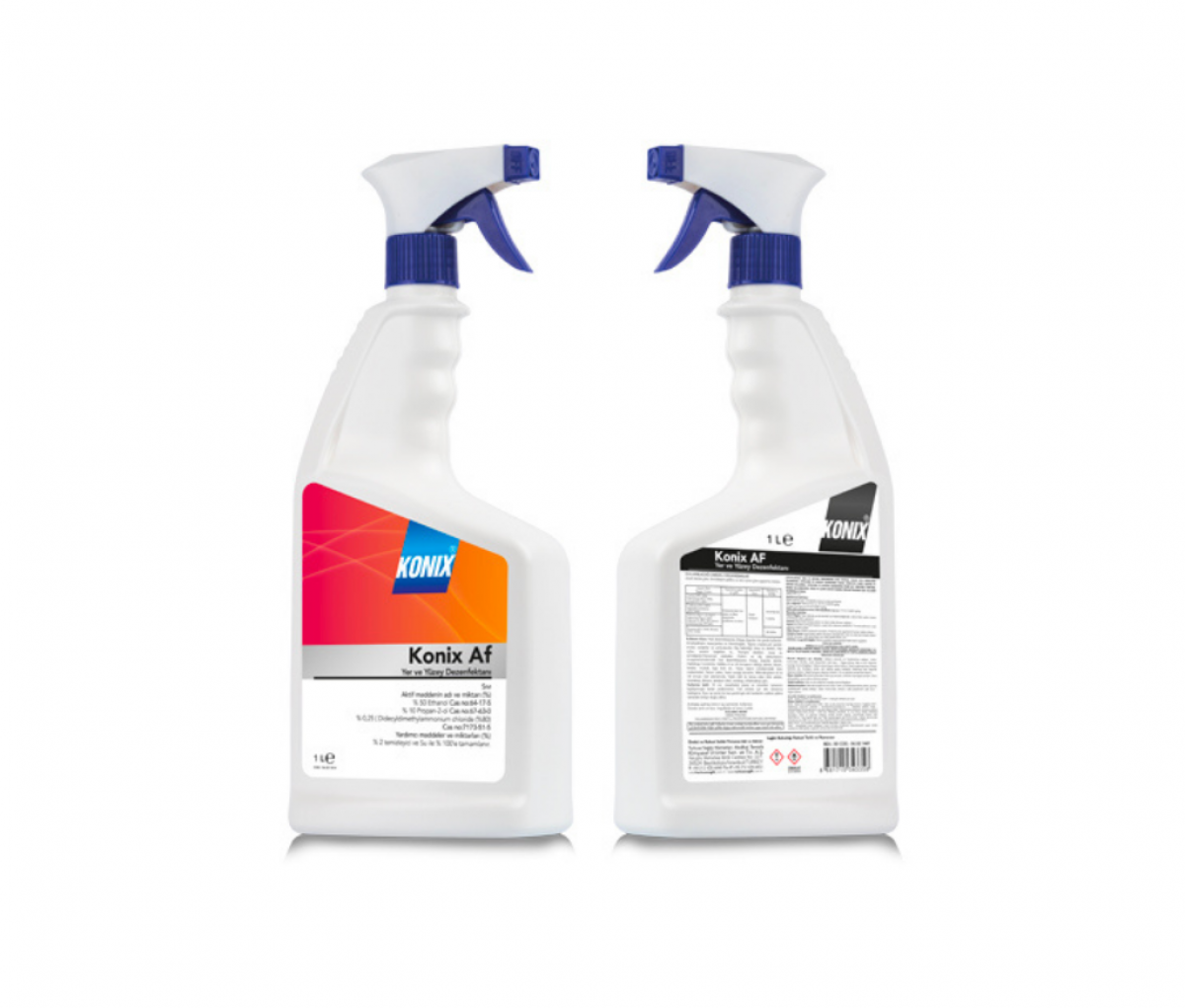 TKZ Konix AF Floor and Surface Disinfectant Spray 1L