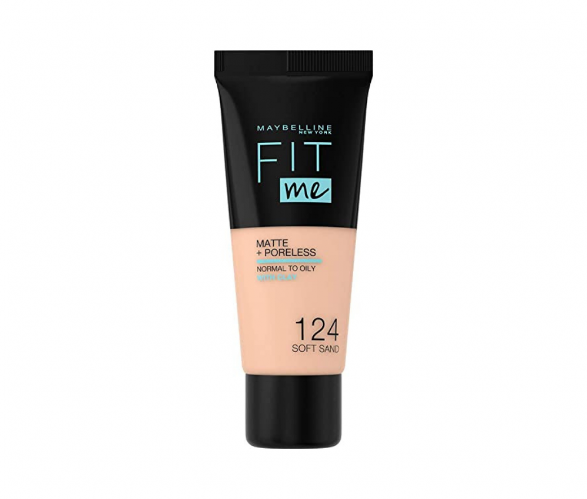 Maybelline 30ml Fit Me 124 Soft Sand Tube Foundation
