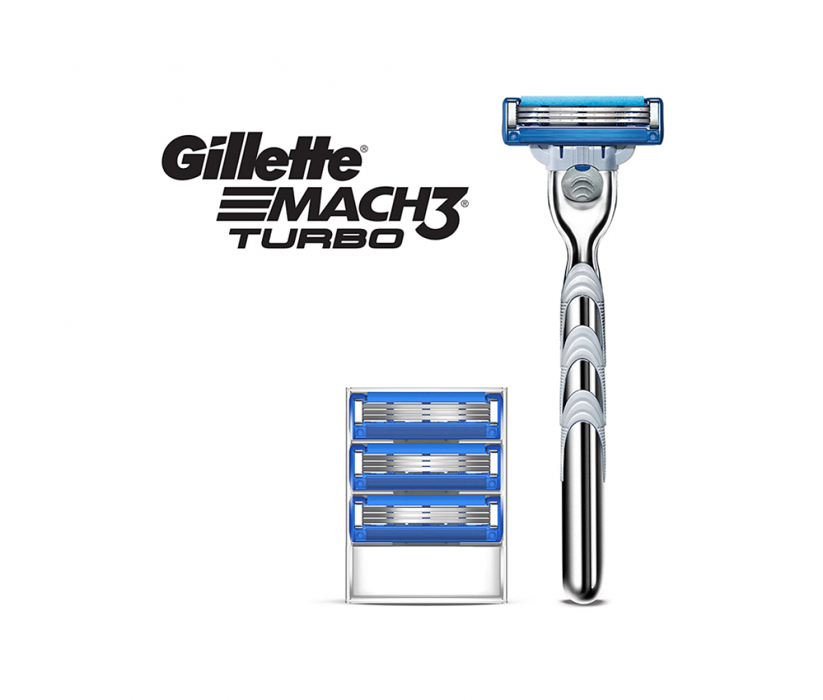 Gillete Mach3 Turbo Razor