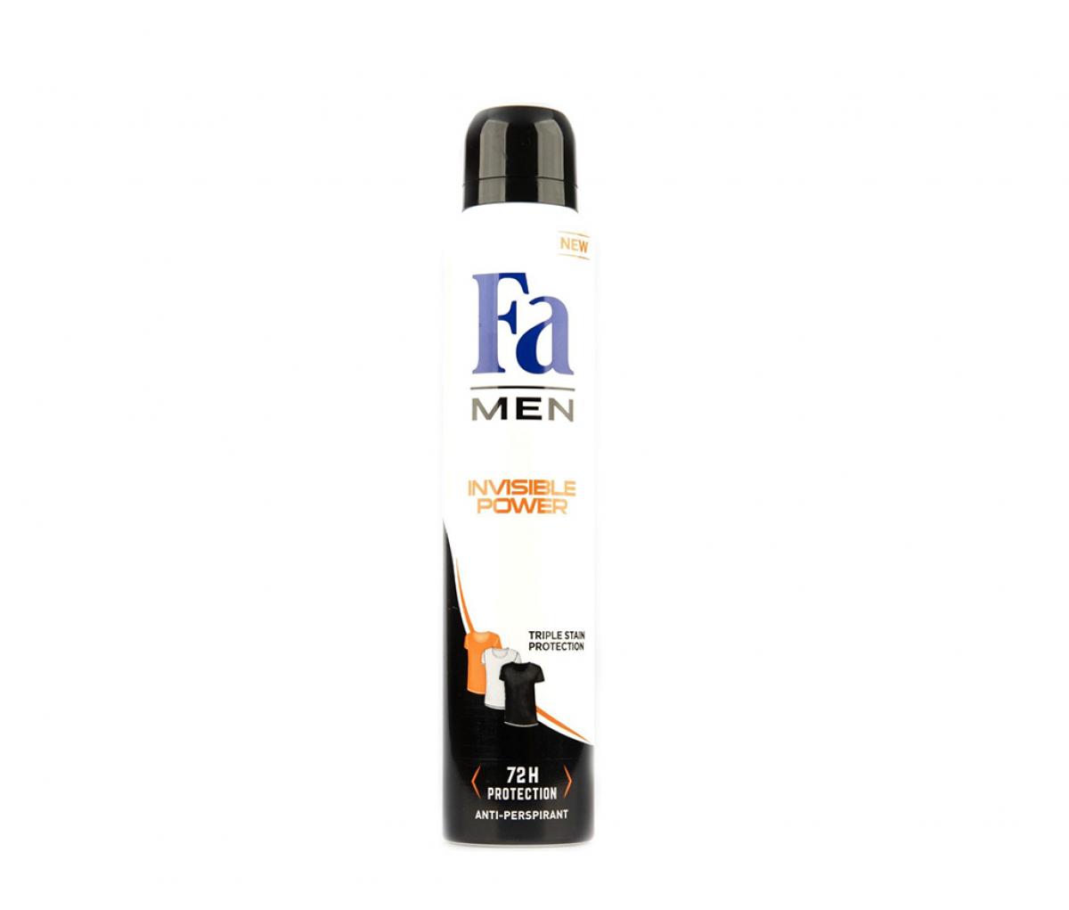 FA Men Deo Spray  Invisible power