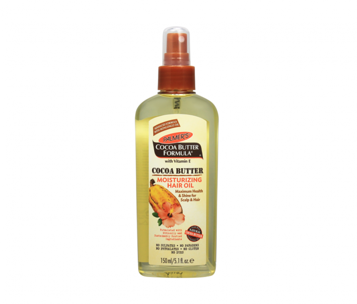Palmers cocoa butter formula hair oil