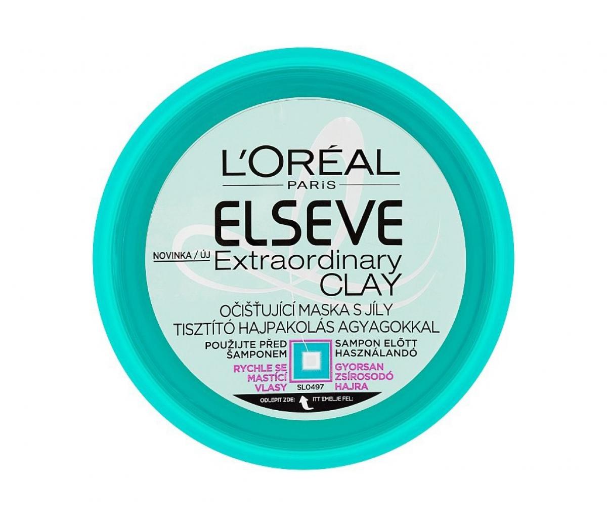 L'Oreal Elvital  Extraordinary Clay Hair Mask