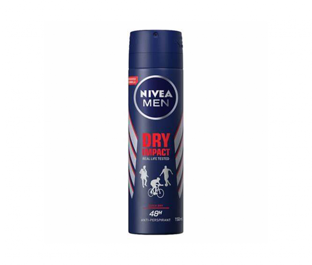 Nivea Men Body Spray Silver Dry Impack Plus