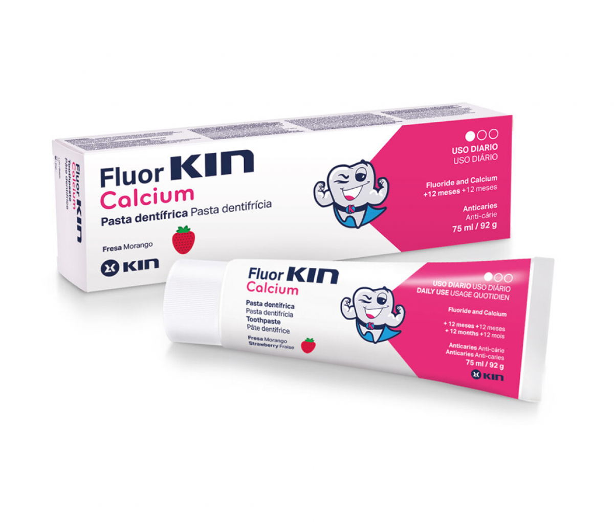 KIN Fluorkin Calcium Toothpaste for Children