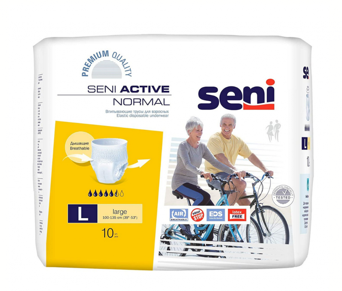 Seni Adult Diapers Large A10 Panty-type
