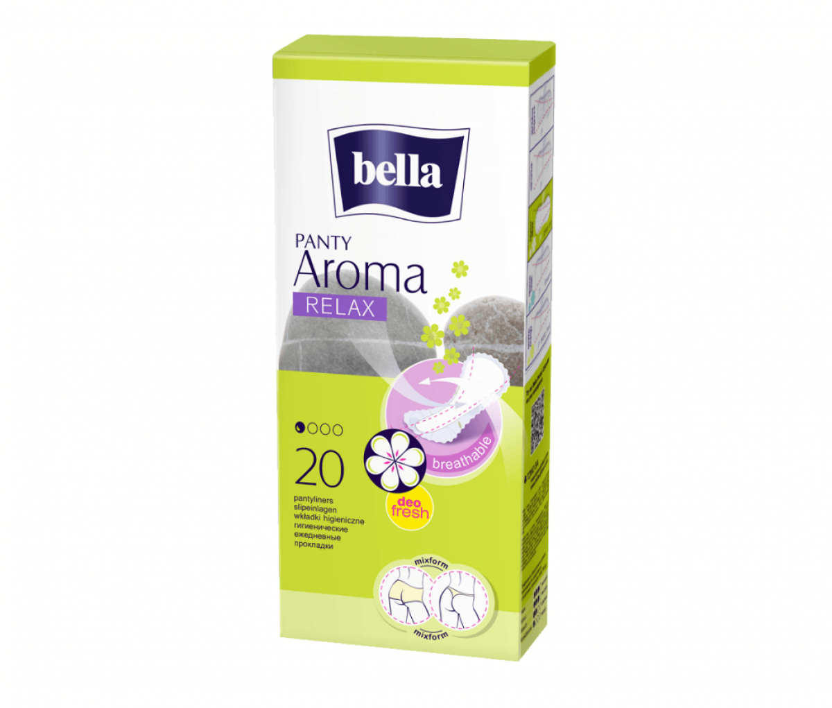 TZMO Bella Pantyliners Panty Aroma Relax a20