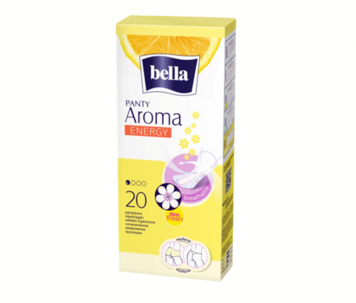 TZMO Bella Pantyliners Panty Aroma Energy a20