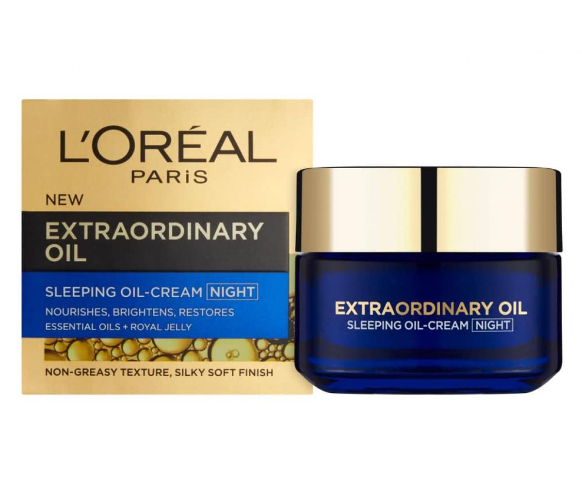 L'Oreal  Extraordinary Cream Masker Night Cream