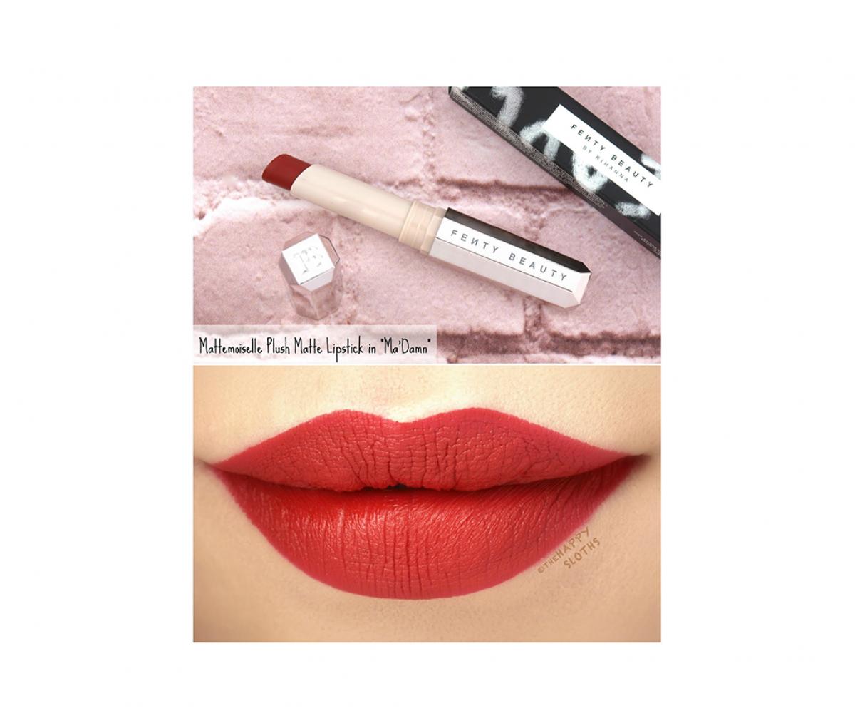 Fenty Beauty Mattemoiselle Plush Matte Lipstick MADAMN