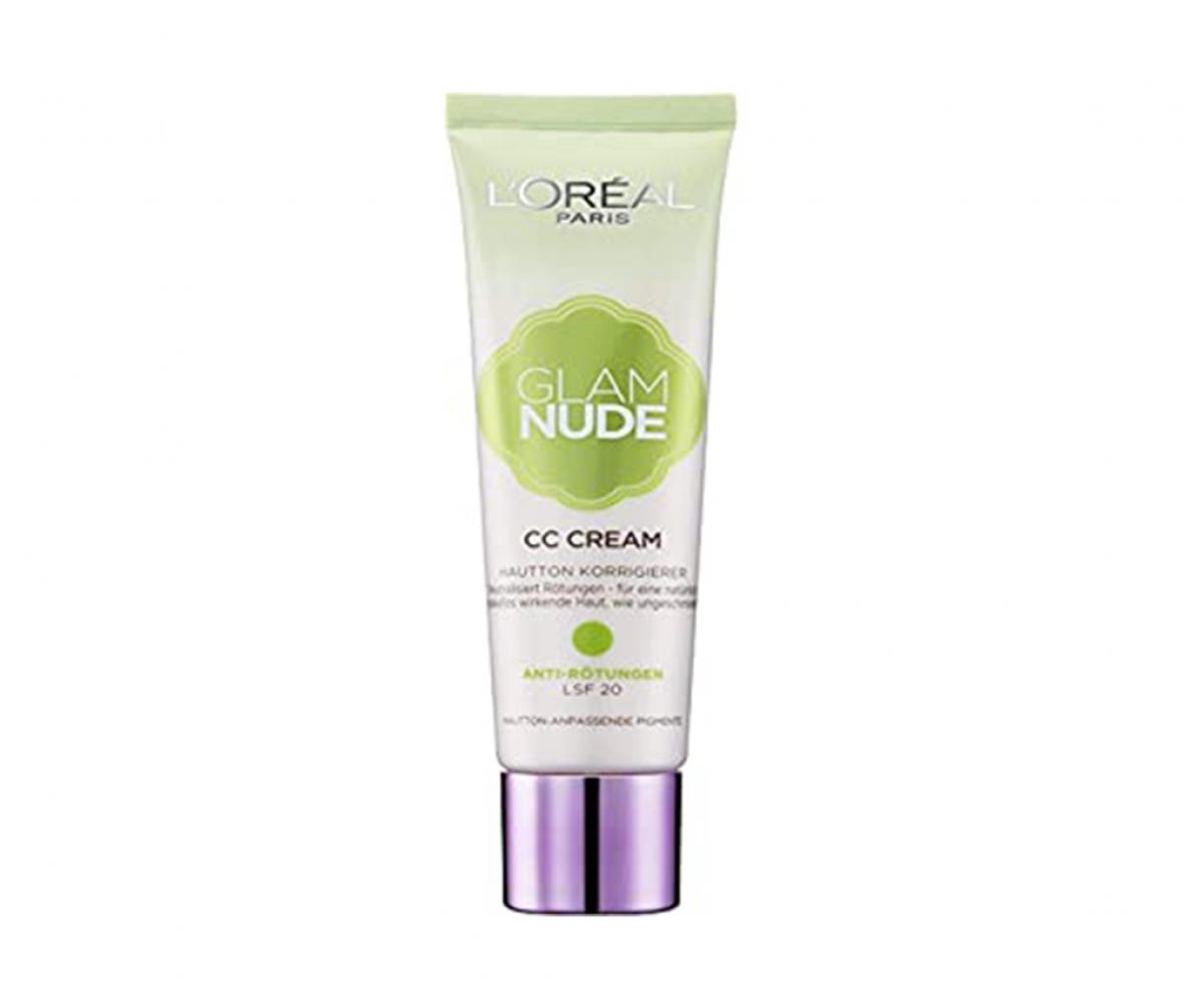 L'Oreal  Glam Nude CC Cream Anti Redeness