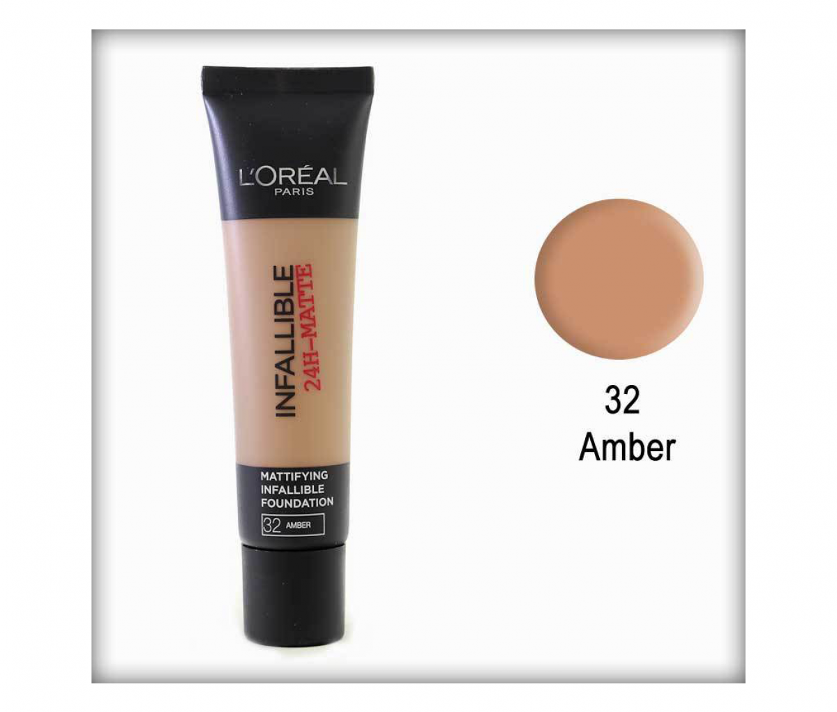 L'Oreal  32 infaillible Amber Foundation Tube