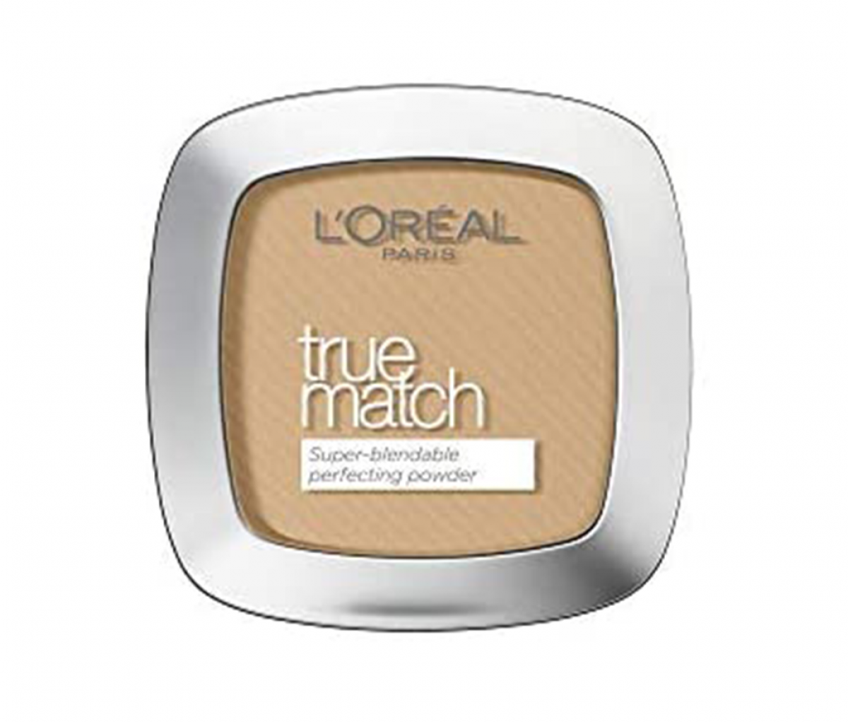 L'Oreal 3D/3W Golden Beige True Match Powder