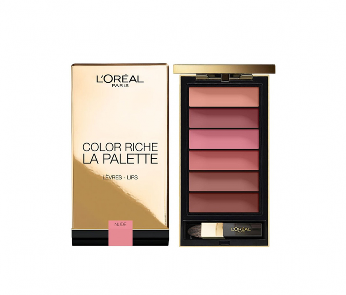 L'Oreal Color Riche La Palette Lips Matte Nude