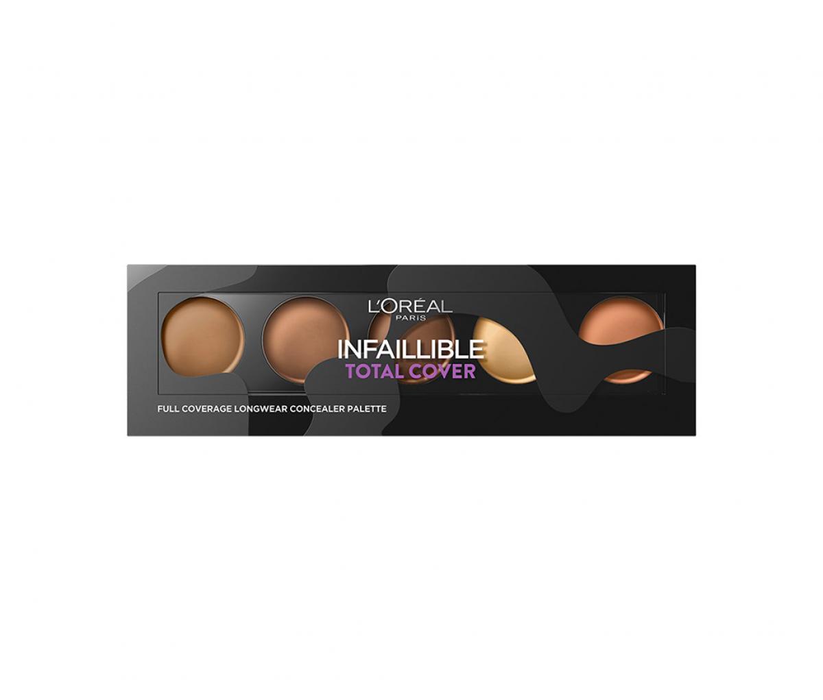 L'Oreal Infaillible Total Cover Concealer Palette