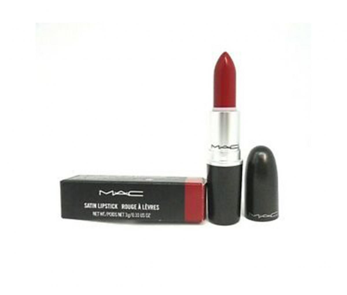 MAC Satin Lipstick MAC Red 811