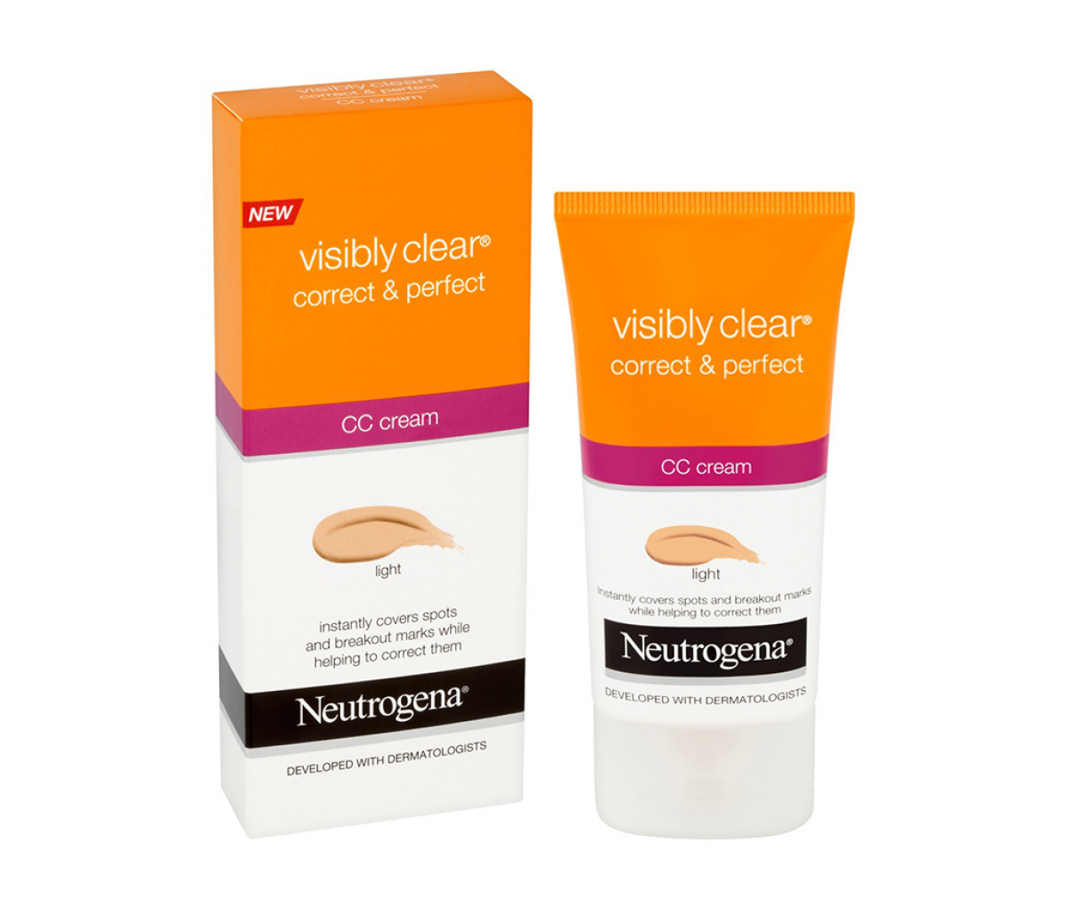 Neutrogena  Cover & Perfect Visibly Clear Light