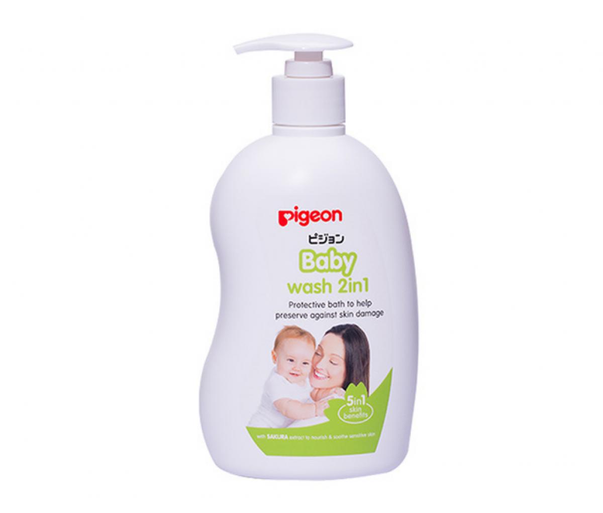 Baby Wash 2in1 Sakura 1 Litre  [26591]
