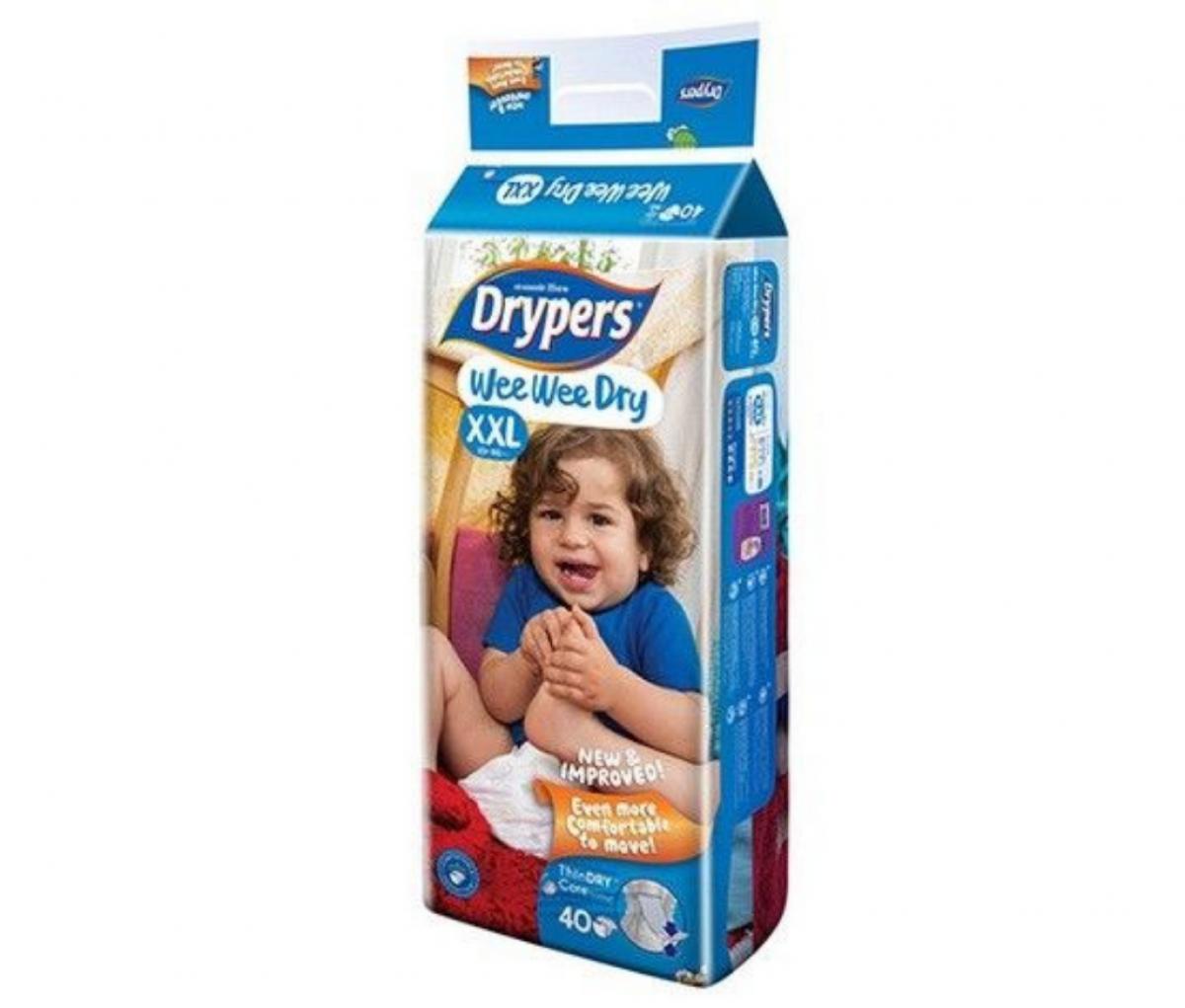 Drypers Baby Diaper (XXL)