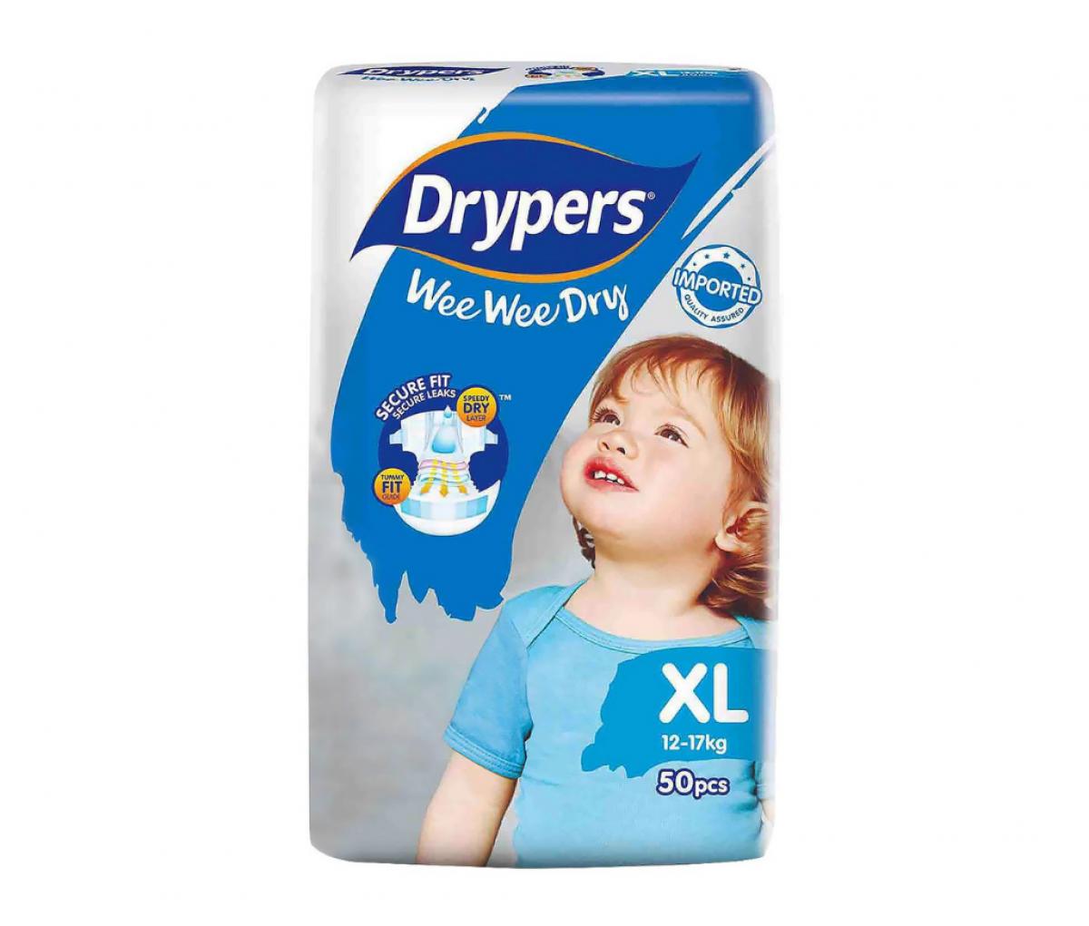 Drypers Baby Diaper (XL)