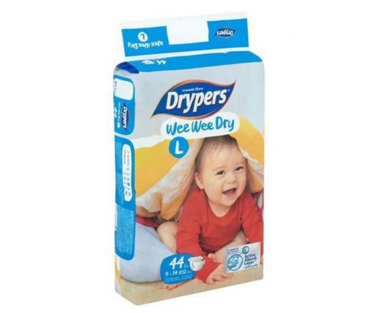 Drypers Baby Diaper (L)