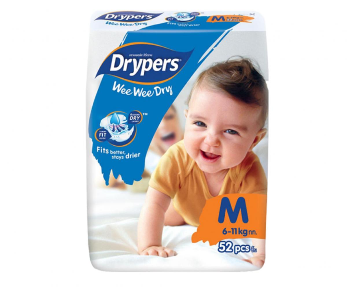 Drypers Baby Diaper (M)