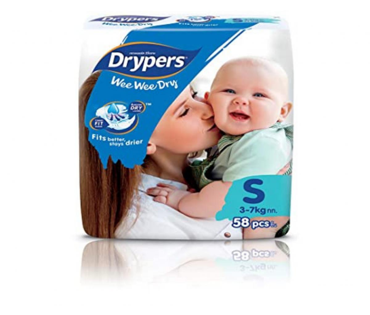 Drypers Baby Diaper (S)