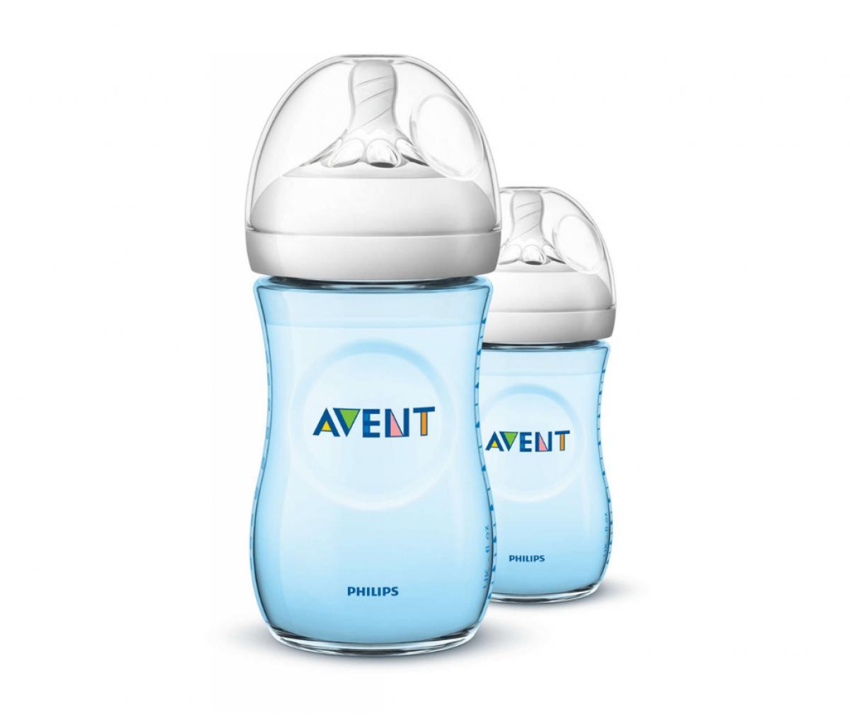 Avent Bottle 260ml/9oz Natural BL Twin SCF695/23