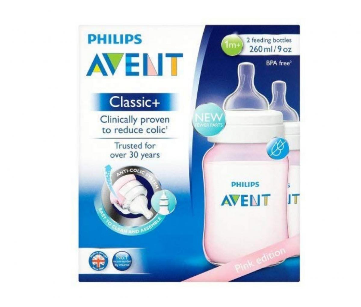 Avent Bottle Classic Plus 260ml/9oz SCF564/27