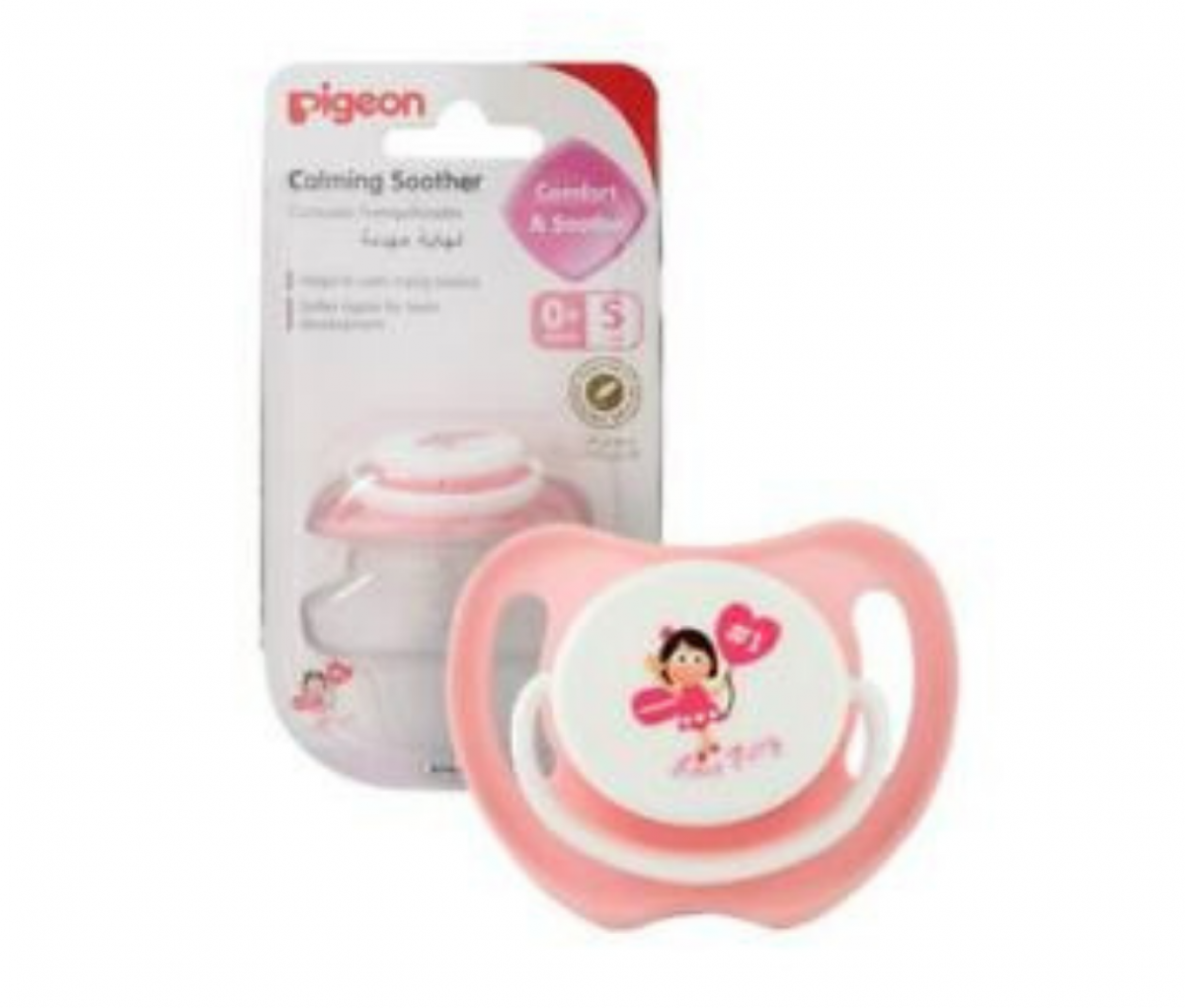 Calming Soother (L) Size Love Fairy, (ENG/SPN), Blister Pack  [78144E]