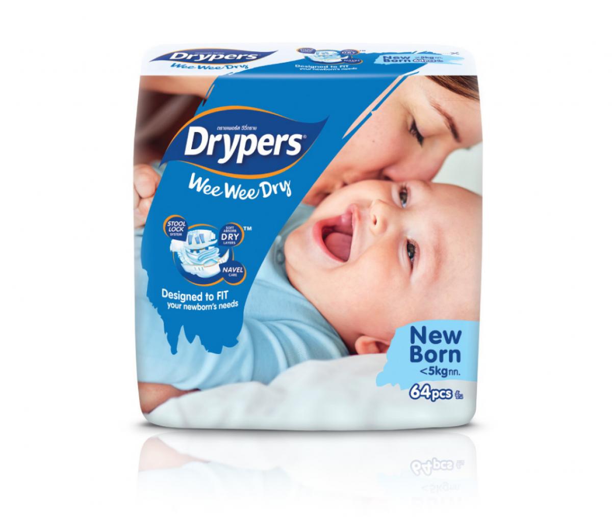 Dryper WeeWee dry Jumbo (NB)