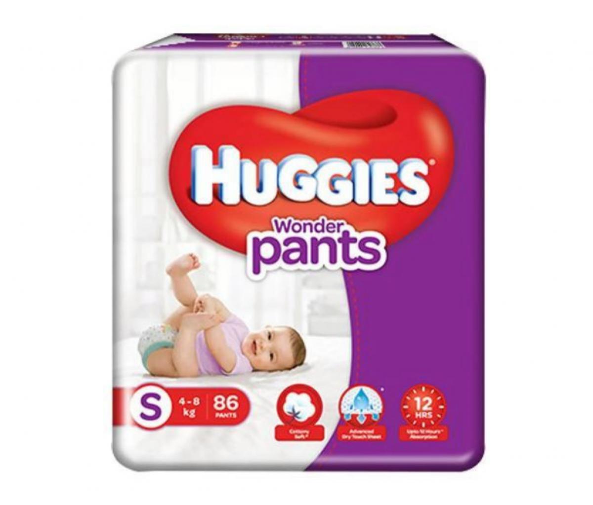Huggies Pants Jumbo Small 76's
