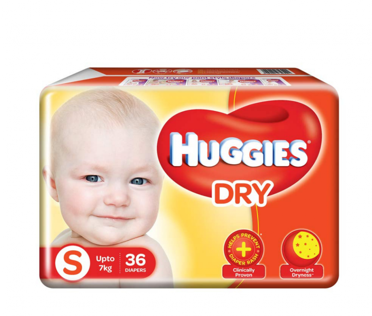 Huggies Diapers Small 36's
