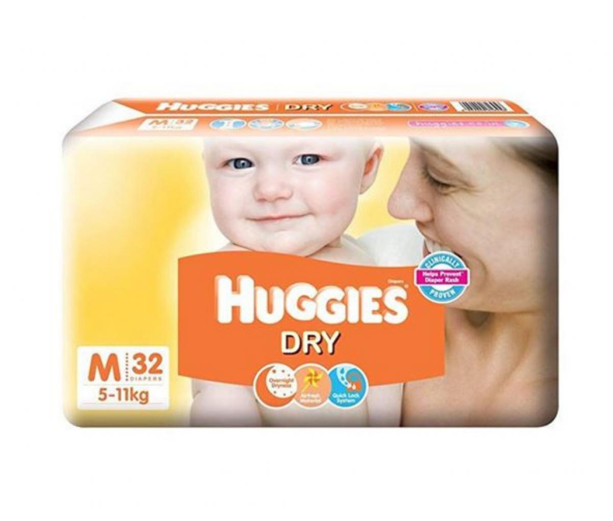 Huggies Diapers Medium 32's