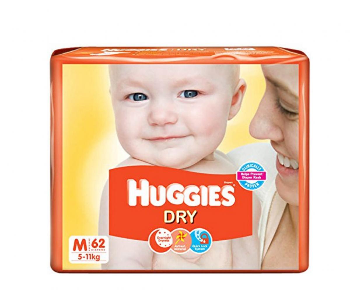 Huggies Diapers Medium 60's