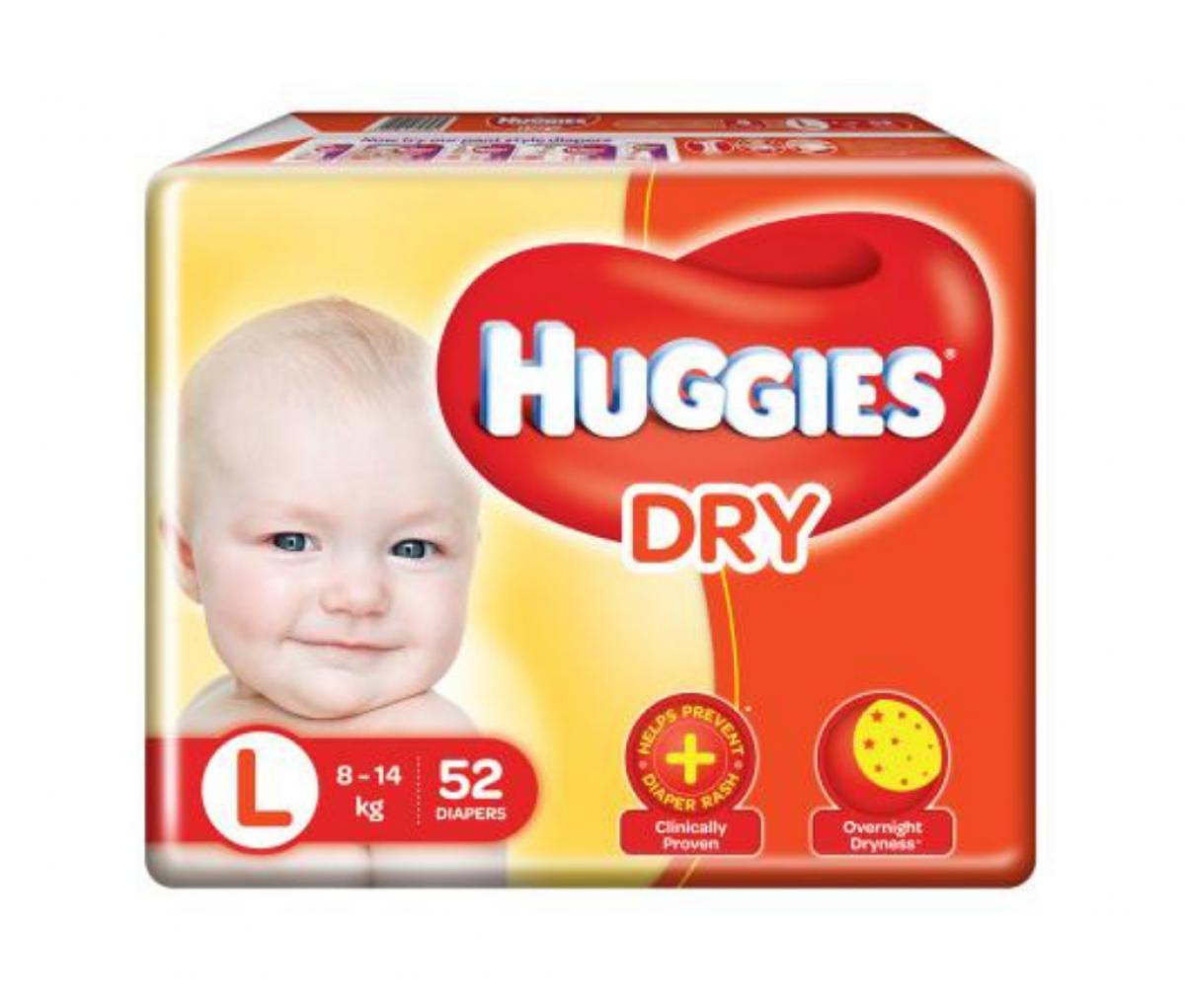 Huggies Diapers Large 52's