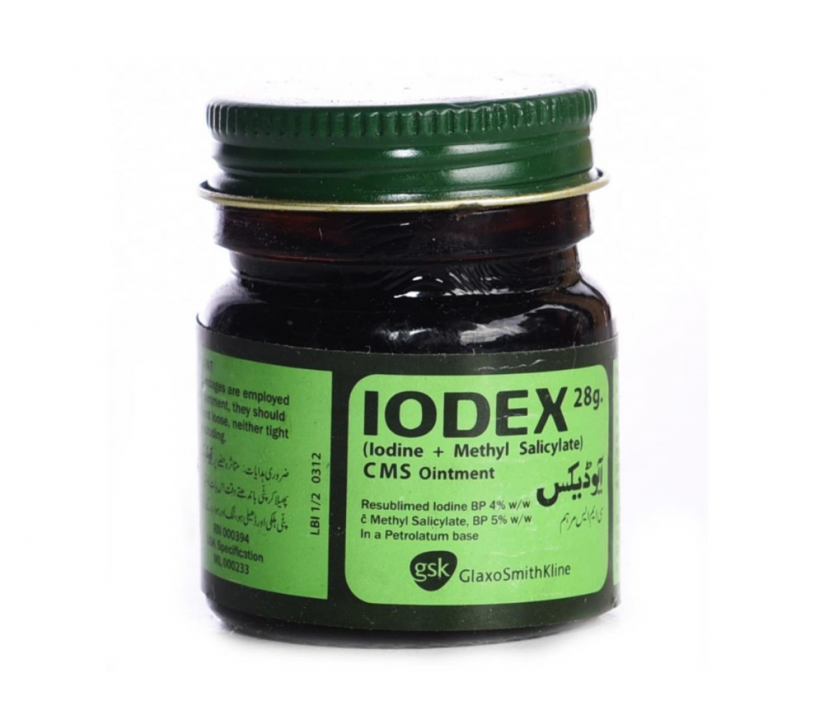 Iodex Ointment Black