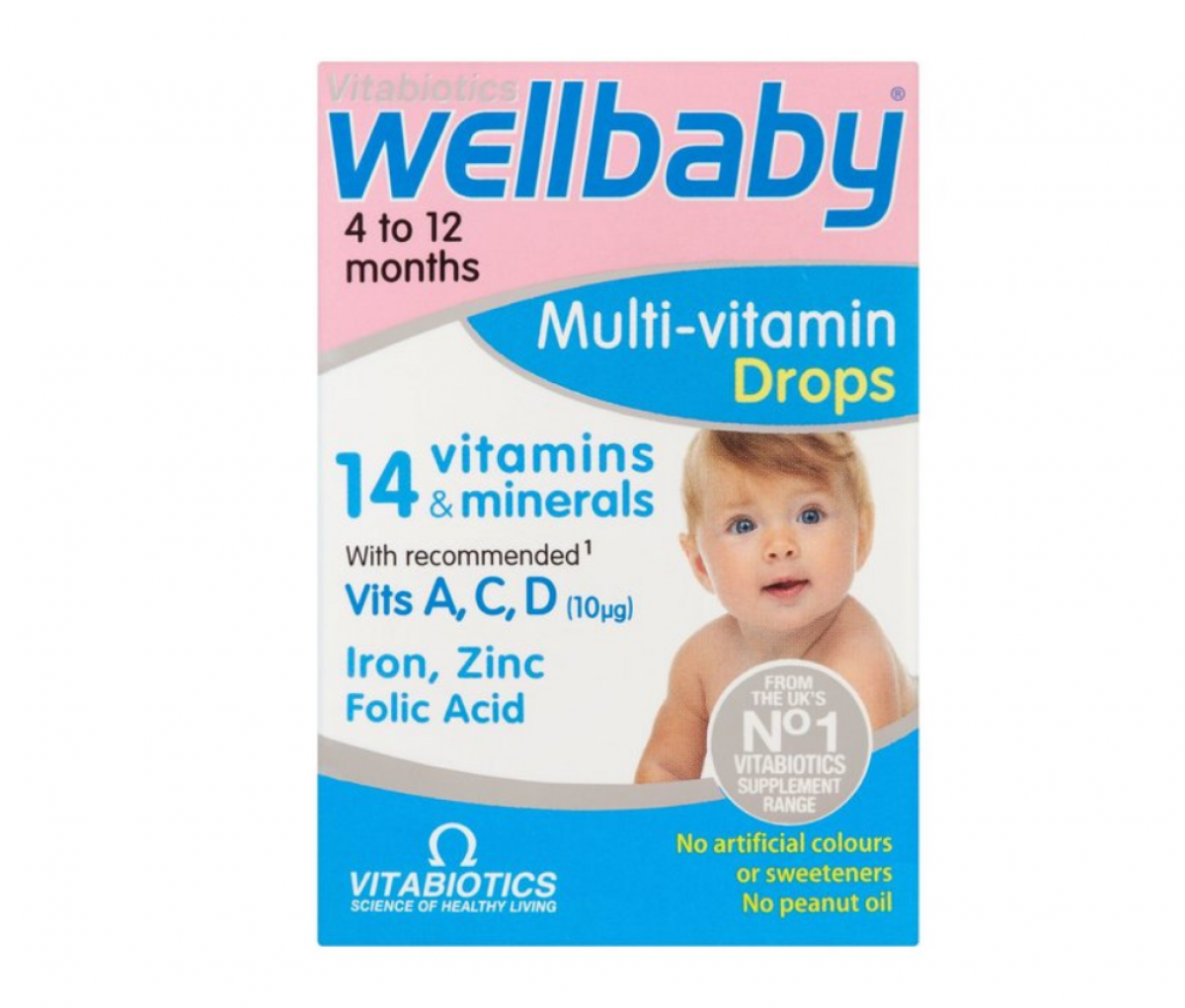 WellBaby Multivitamin Drops 30ml