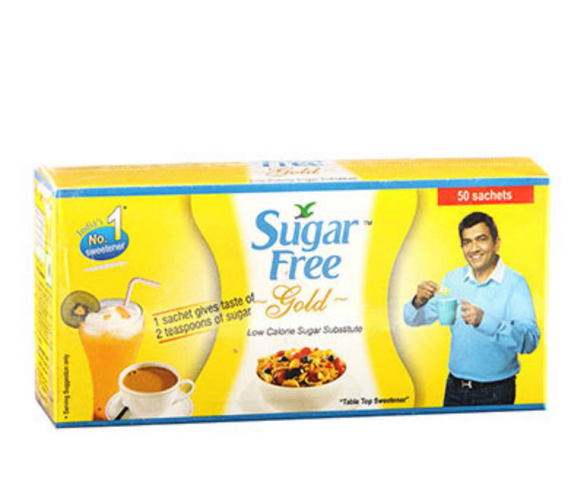 Sugarfree Gold Sweetener Sachets 50g