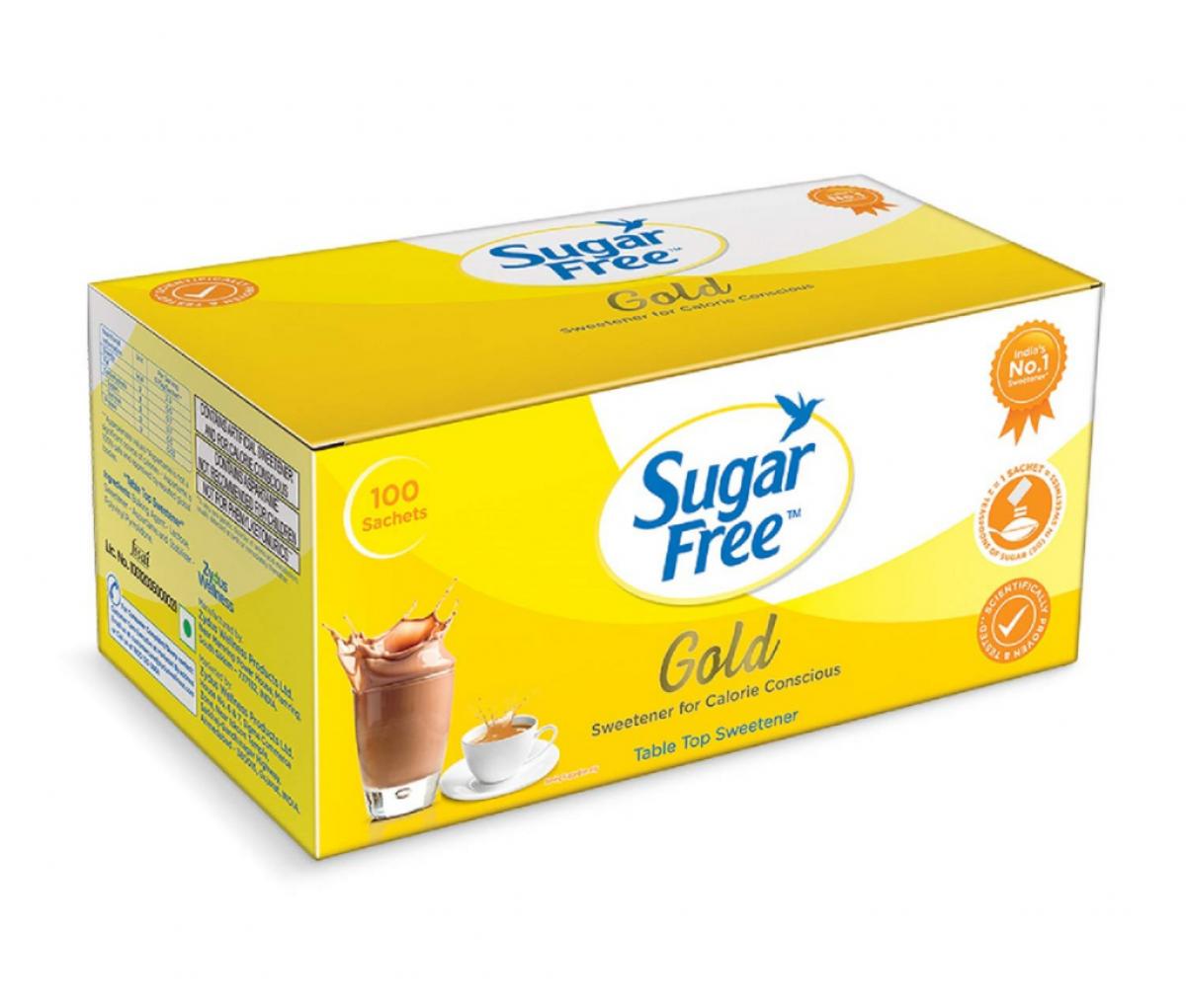 Sugarfree Gold Sweetener Sachets 100g