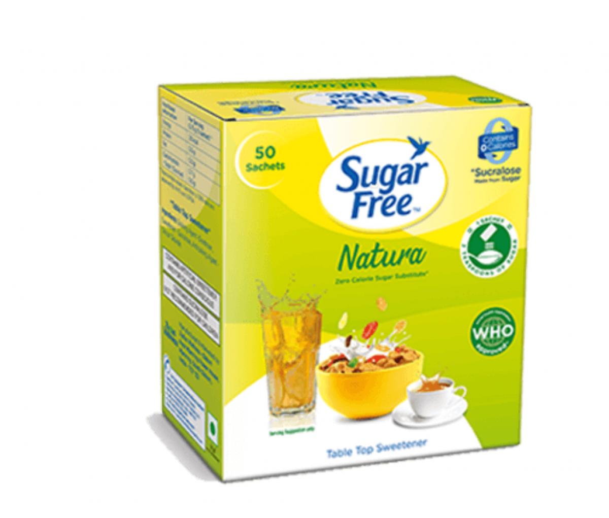 Sugarfree Natura Sweetener Sachets 50g