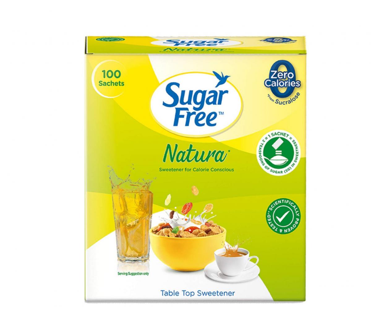 Sugarfree Natura Sweetener Sachets 100g