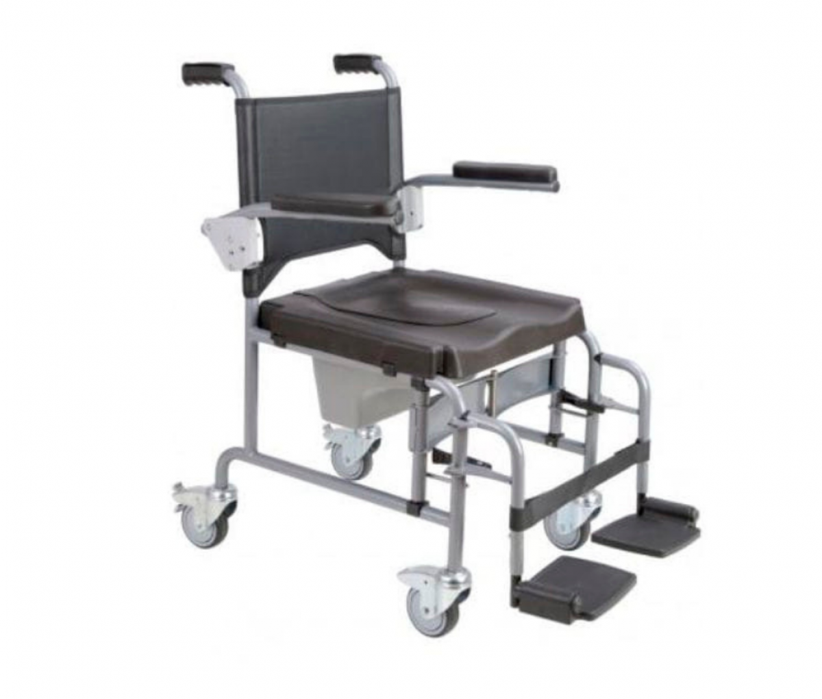Commode Chair with Caster Wheel SQ1010