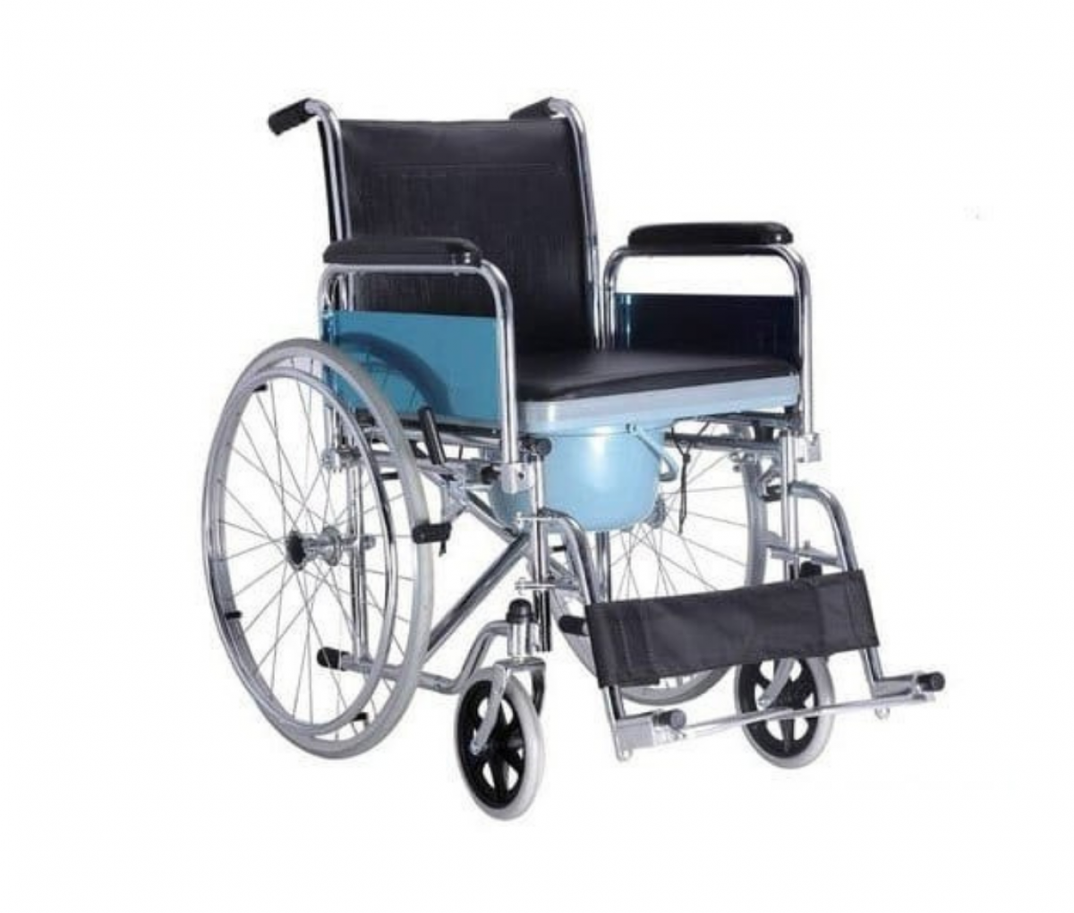 Commode Wheel Chair SS - SQ1008