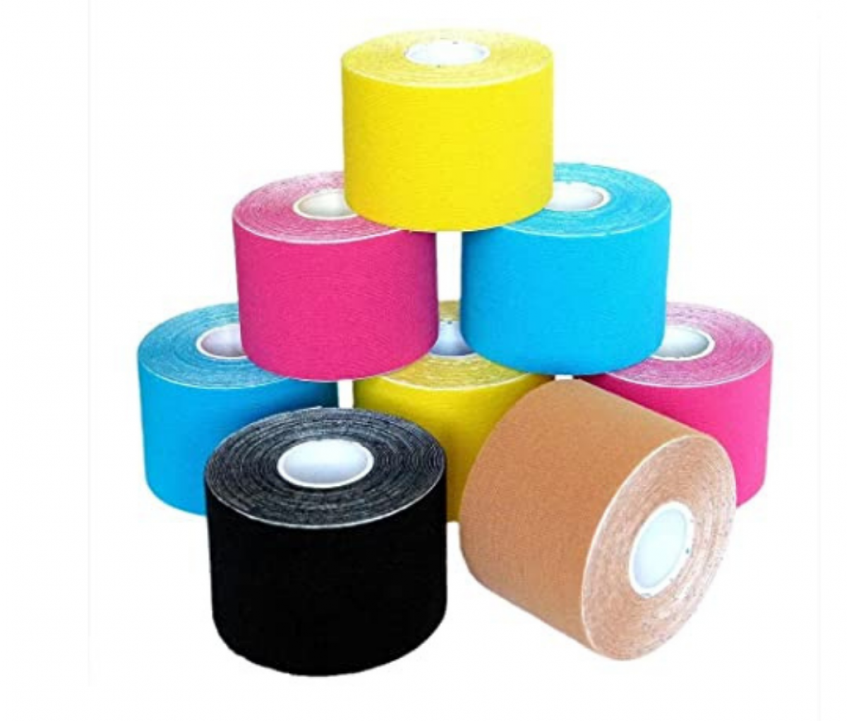 KINESIOLOGY TAPE - 5 CM X 5 M ASSORTED COLORS
